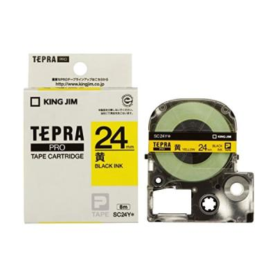 TEPRA SC24Y - Chữ đen nền vàng 24mm